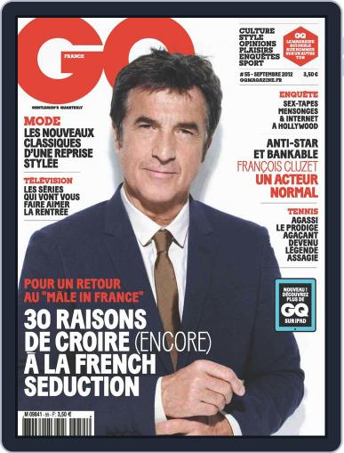Gq France (Digital) August 13th, 2012 Issue Cover