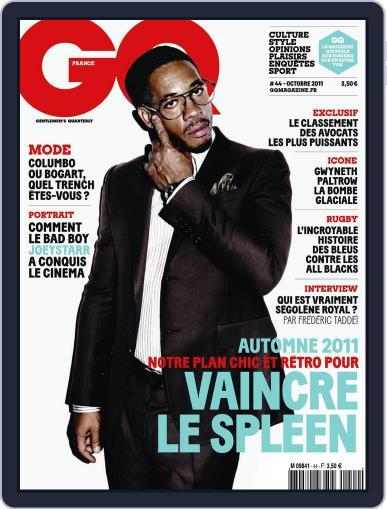 Gq France (Digital) September 20th, 2011 Issue Cover