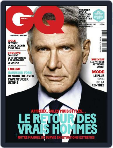 Gq France (Digital) August 16th, 2011 Issue Cover