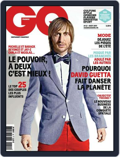 Gq France (Digital) July 18th, 2011 Issue Cover