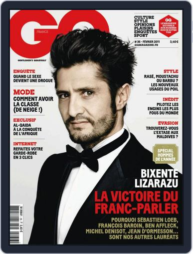 Gq France (Digital) January 19th, 2011 Issue Cover
