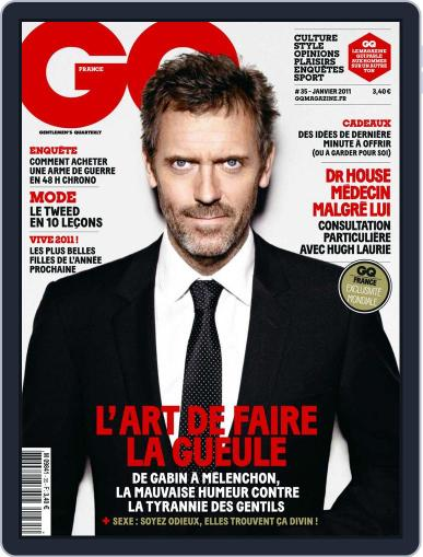 Gq France (Digital) December 14th, 2010 Issue Cover