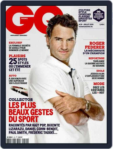 Gq France (Digital) June 15th, 2010 Issue Cover