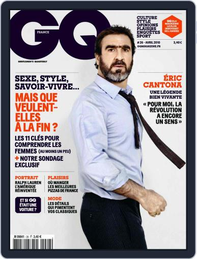Gq France (Digital) March 16th, 2010 Issue Cover