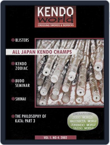 Kendo World (Digital) October 27th, 2002 Issue Cover