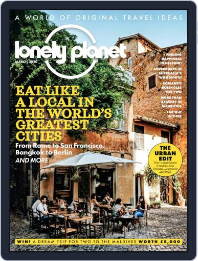 Lonely Planet March 1st, 2020 Digital Back Issue Cover