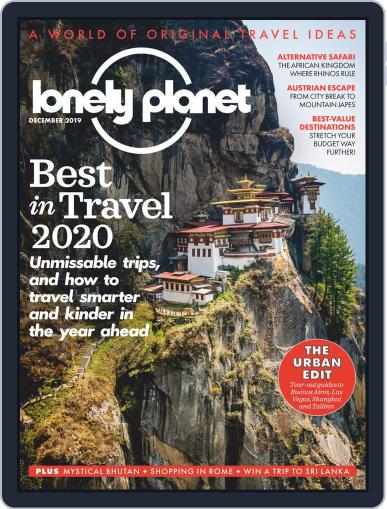 Lonely Planet December 1st, 2019 Digital Back Issue Cover