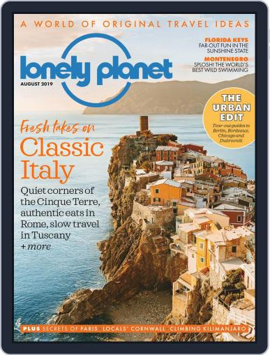 Lonely Planet August 1st, 2019 Digital Back Issue Cover