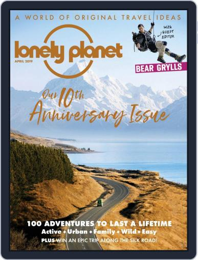 Lonely Planet April 1st, 2019 Digital Back Issue Cover