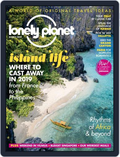 Lonely Planet March 1st, 2019 Digital Back Issue Cover