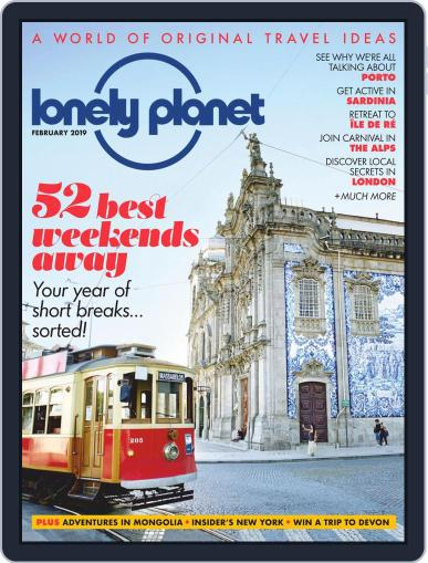 Lonely Planet February 1st, 2019 Digital Back Issue Cover