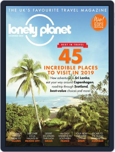 Lonely Planet (Digital) December 1st, 2018 Issue Cover