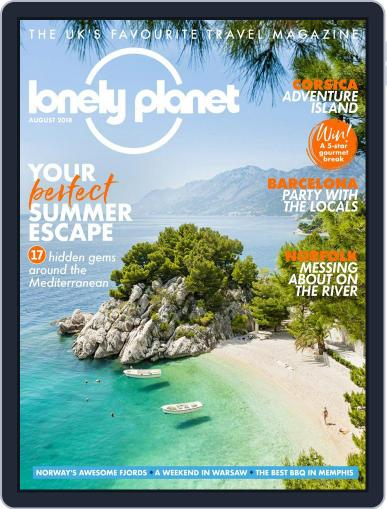 Lonely Planet (Digital) August 1st, 2018 Issue Cover