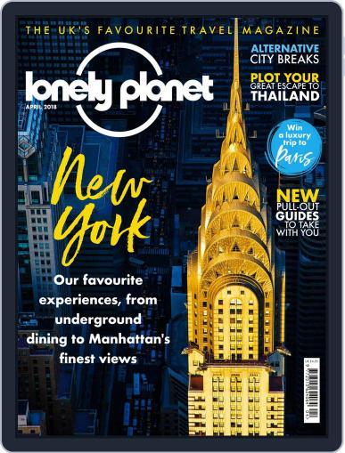 Lonely Planet April 1st, 2018 Digital Back Issue Cover
