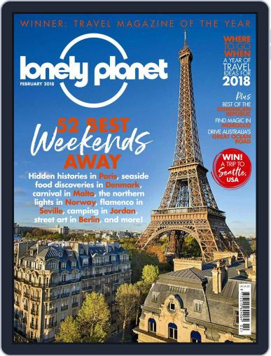 Lonely Planet February 1st, 2018 Digital Back Issue Cover