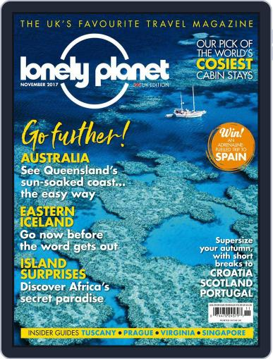 Lonely Planet November 1st, 2017 Digital Back Issue Cover