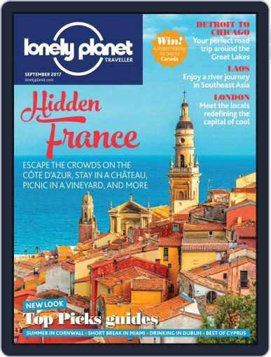 Lonely Planet (Digital) September 1st, 2017 Issue Cover
