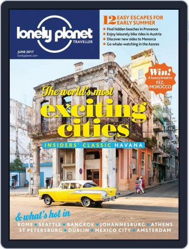 Lonely Planet June 1st, 2017 Digital Back Issue Cover