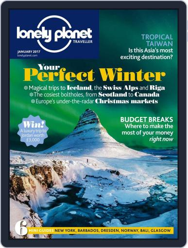 Lonely Planet January 1st, 2017 Digital Back Issue Cover