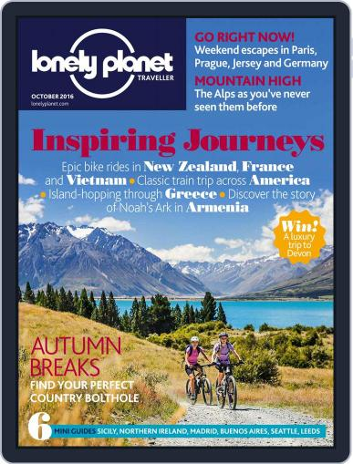 Lonely Planet October 1st, 2016 Digital Back Issue Cover