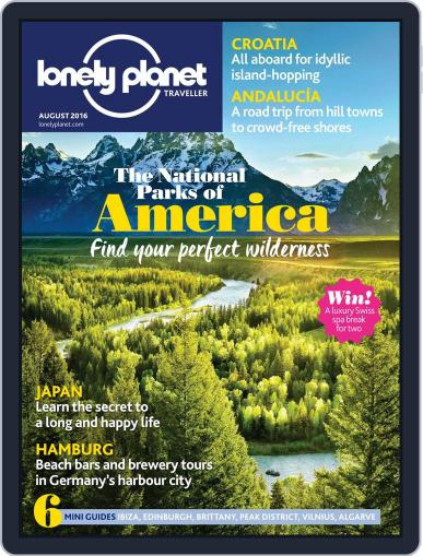 Lonely Planet (Digital) July 7th, 2016 Issue Cover