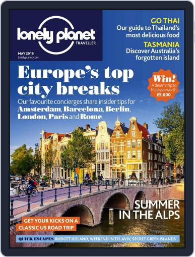 Lonely Planet April 7th, 2016 Digital Back Issue Cover