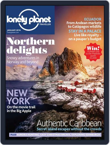 Lonely Planet January 1st, 2016 Digital Back Issue Cover