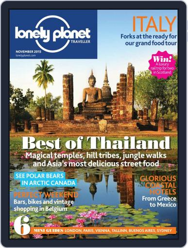 Lonely Planet (Digital) November 1st, 2015 Issue Cover