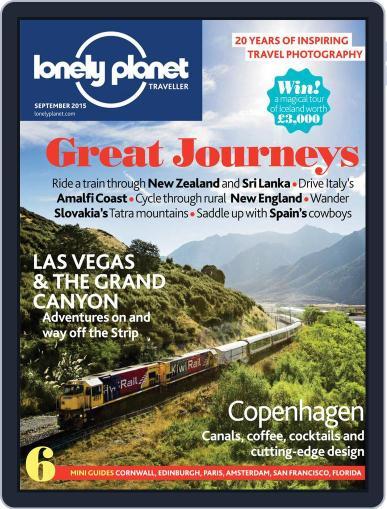 Lonely Planet September 1st, 2015 Digital Back Issue Cover