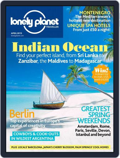 Lonely Planet March 5th, 2015 Digital Back Issue Cover