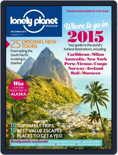 Lonely Planet November 6th, 2014 Digital Back Issue Cover