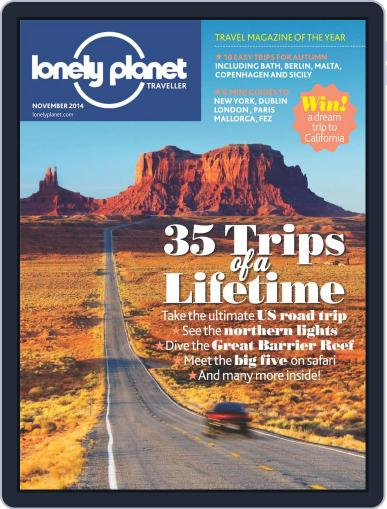 Lonely Planet (Digital) October 2nd, 2014 Issue Cover