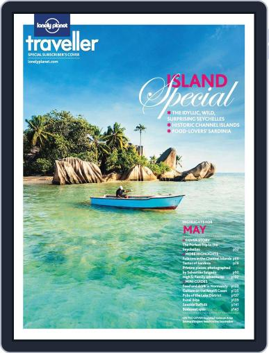 Lonely Planet April 4th, 2013 Digital Back Issue Cover