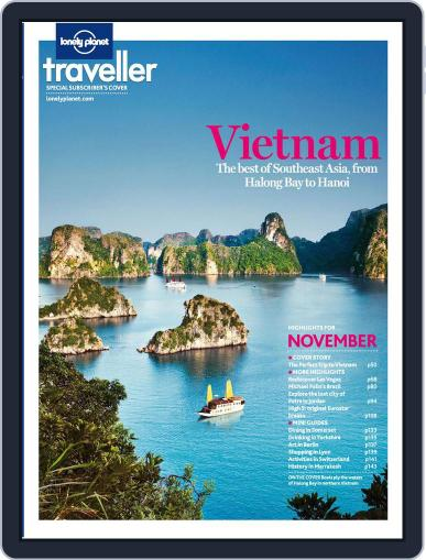 Lonely Planet October 17th, 2012 Digital Back Issue Cover