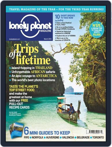 Lonely Planet February 15th, 2012 Digital Back Issue Cover