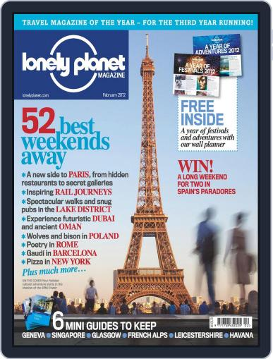 Lonely Planet (Digital) January 19th, 2012 Issue Cover