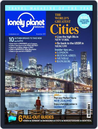 Lonely Planet (Digital) October 20th, 2011 Issue Cover