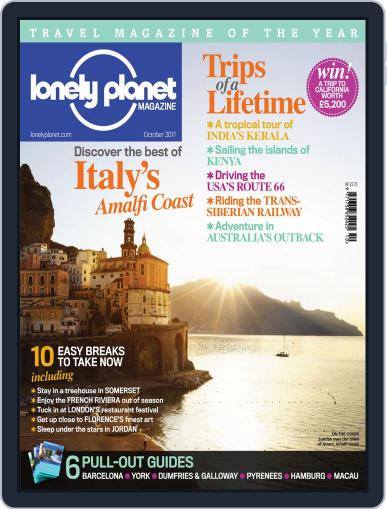 Lonely Planet October 4th, 2011 Digital Back Issue Cover