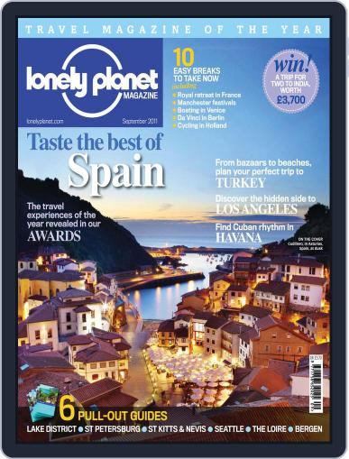 Lonely Planet (Digital) August 24th, 2011 Issue Cover