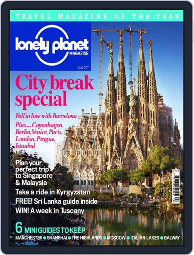 Lonely Planet (Digital) April 1st, 2011 Issue Cover