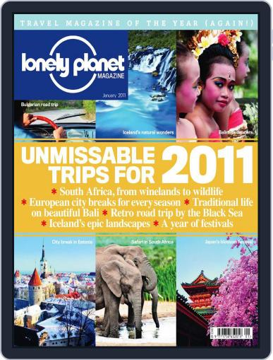Lonely Planet (Digital) January 4th, 2011 Issue Cover