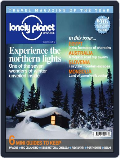 Lonely Planet November 23rd, 2010 Digital Back Issue Cover