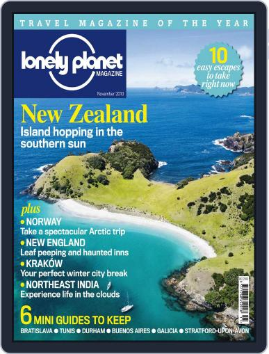 Lonely Planet (Digital) November 4th, 2010 Issue Cover