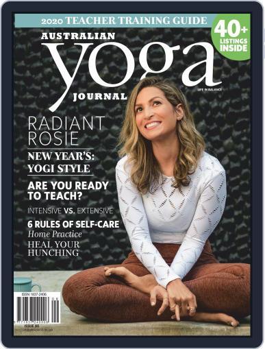 Australian Yoga Journal (Digital) January 1st, 2020 Issue Cover