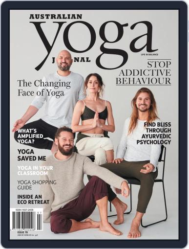 Australian Yoga Journal October 1st, 2019 Digital Back Issue Cover