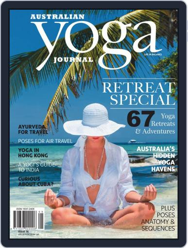 Australian Yoga Journal July 1st, 2019 Digital Back Issue Cover