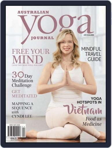 Australian Yoga Journal (Digital) May 1st, 2019 Issue Cover
