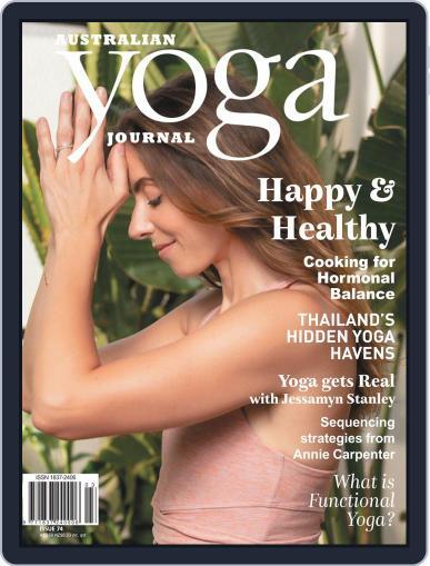 Australian Yoga Journal April 1st, 2019 Digital Back Issue Cover