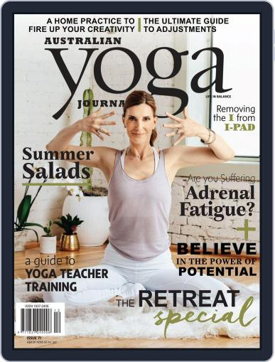 Australian Yoga Journal (Digital) November 1st, 2018 Issue Cover
