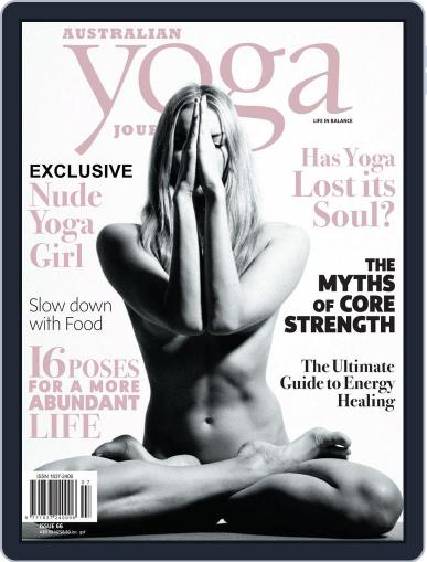Australian Yoga Journal April 1st, 2018 Digital Back Issue Cover